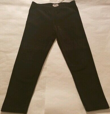 Poofy girls Size L/14 Black Corduroy Leggings
