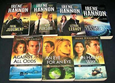 7 Irene Hannon Lot -series all: HEROES OF QUANTICO / GUARDIANS OF JUSTICE +