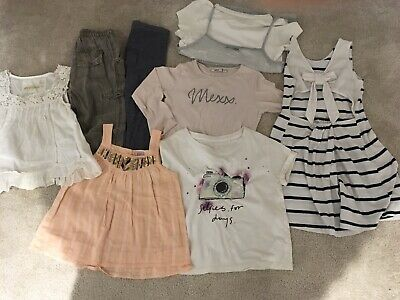 Girls Small Bundle Clothes Age 4 + Few Trousers , Tops , Blouses & Dress# Next !