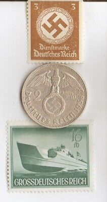 *egyp. *king 'TUT' coin+WW2 -*german SILVER EAGLE + zink coins + RARE  stamps