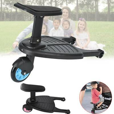 Kids Stroller Step Board Toddler Buggy Wheel Board Skateboard for Prams Joggers