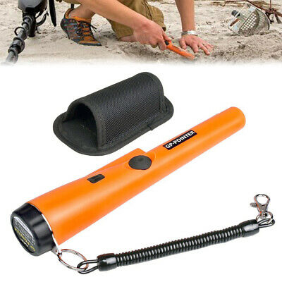 Portable Metal Detector Waterproof Pinpointer Pin Pointer Probe With Holster AU