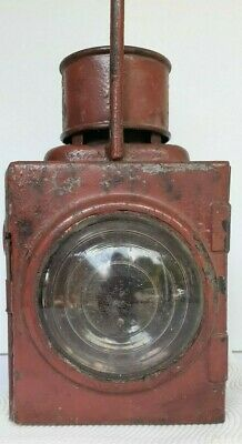 """Vintage Antique New South Wales Railways """"Railway Marker Lamp No.1"""" Working Cond"""