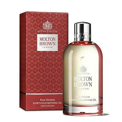 Molton Brown Rosa Absolute Sumptuous Bathing Oil - 200ml NEW & Sealed