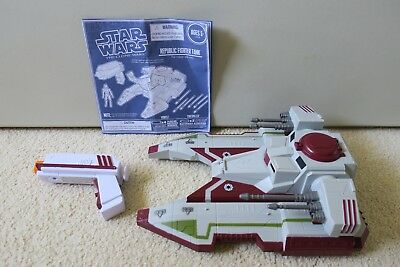 star wars clone wars remote control republic fighter tank