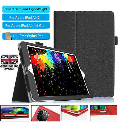"""Flip Magnetic PU Leather Stand Case Case Cover For Apple iPad AIR 1,2 9.7"""""""