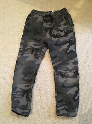 boys camouflage trousers Age 8 NEXT grey Army Combat Trousers