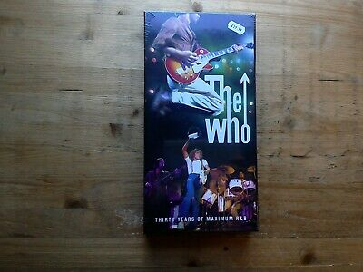 The Who Thirty Years Of Maximun R&B NEW SEALED 4 CD Box Set & Booklet