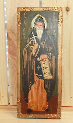 Hand painted Orthodox icon Saint John of Rila