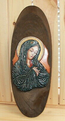 Hand made Orthodox icon The Virgin Mary