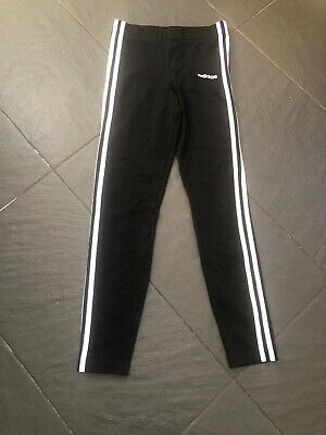 Girls Adidas Leggins Age 13 To 14 BNWT Black