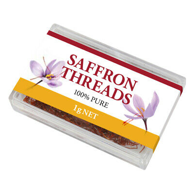 5 x Chef's Choice Premium Saffron Threads 1g (pack of 5)
