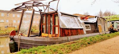 37ft Springer narrow boat creative project