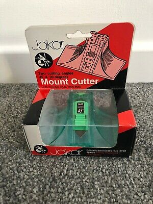 Jakar Mount Cutter Cuts 45 & 90 Degree With Spares Bi-Directional Photo Pictures