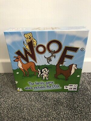 WOOF Board Game - The Present Finder - NEW & SEALED