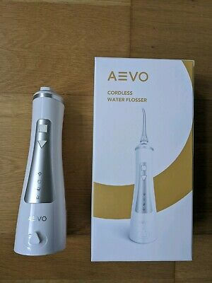 AEVO Cordless Water Flosser, Dental/Oral Irrigator [Portable & Rechargeable]
