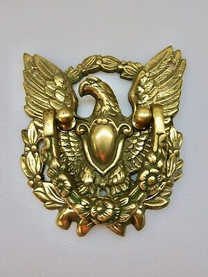 VTG USA BALD EAGLE DOOR KNOCKER Architectural DOOR REHAB BY WILLIAMSBURG POTTERY