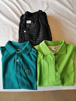 Boys bench Jeans, Lacoste Polo And Hugo Boss Polo Age 7-8