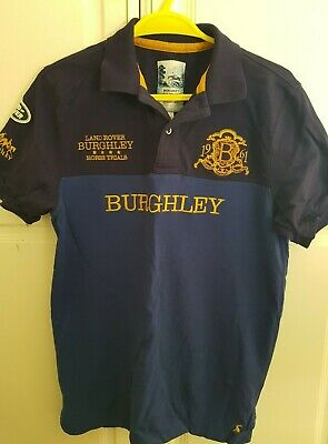 Joules Men's Burghley Horse Trials Polo Limited Edition, Small