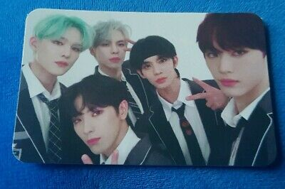 Kpop CIX Chapter 2 Hello, Strange Place Group Official Photocard Wanna One