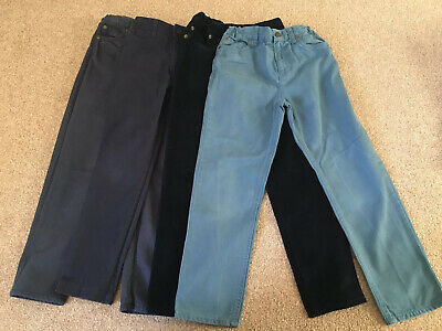 4 Pairs Age 8 John Lewis Boys Trousers Excellent Condition