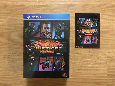 Raging Justice Collectors Edition Ps4