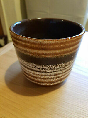 Small West German Pottery planter
