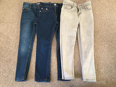 3 Pairs Girls Age 6 Jeans Blue Zoo John Lewis Boden Excellent Condition