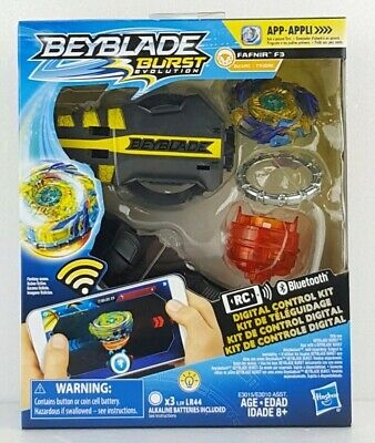 Brand NEW Beyblade Burst Evolution Digital Control Top FAFNIR F3 Hasbro New Toy