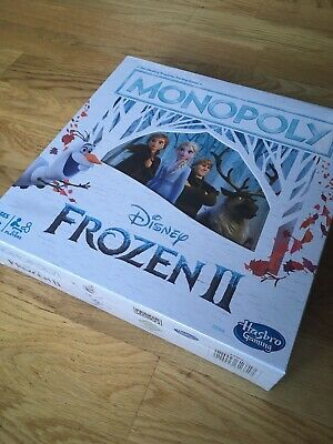 Monopoly Frozen Ii 2 Disney Hasbro Games New And Sealed
