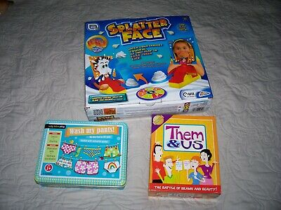 Family board games brand new in boxes Christmas fun