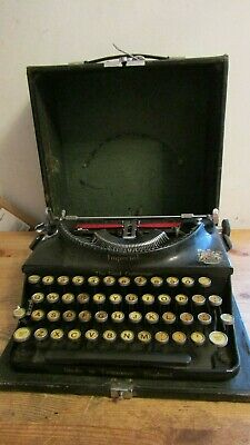 "Vintage Imperial ""The Good Companion"" Manual Typewriter in Case"