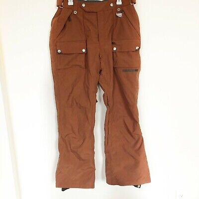 Holden Snowboard Pants Brown Size Large Winter Ski Snow Mens