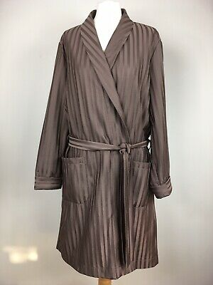 Vintage M&S St Michael Mens Dressing Gown Robe Smoking Jacket Medium Made in UK