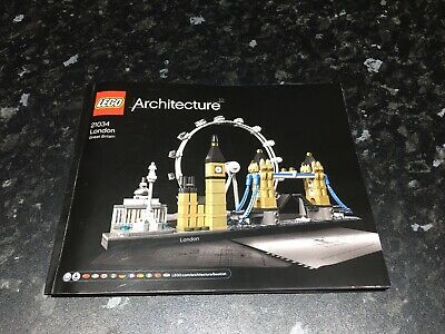 LEGO Architecture London (21034) Booklet