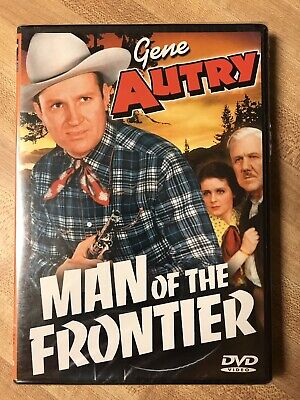 Man of the Frontier (DVD, 2002) Gene Autry, Brand New, Sealed, Rare