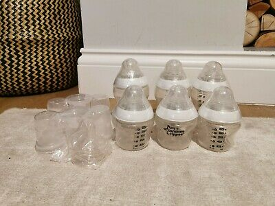 Tommee Tippee Closer to Nature Baby Feeding Bottle Set 3x 260ml, 3x 150ml plus
