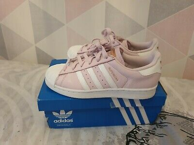 Ladies adidas superstar trainers size 5