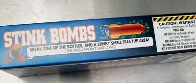 1 CASE OF GLASS STINK BOMBS 36 TOTAL  1 Box=-12 to a box-3 stinkers in each box