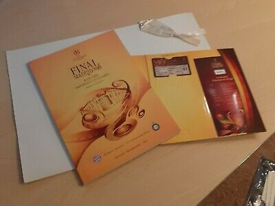 Champions League Final 2010 Madrid Welcome Package Ticket Programm