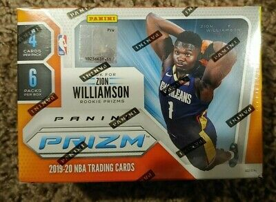 2019-20 Panini Prizm Basketball NBA Trading Cards Sealed Blaster Box - QTY avail