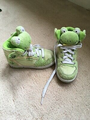 Skechers Kids Frog Shoes Trainers Size Uk 11