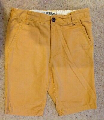 Very Nice Boys Shorts from Next, Age 9 (~134cm in Height) Mustard