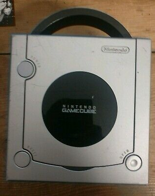 Nintendo GameCube Platinum Silver - Console Only - Fully Tested and Working