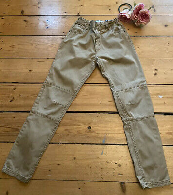 TED BAKER BOYS chino CARGO TROUSERS age 10 Years beige Cream Kids