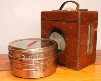 Toulet Imperator Pigeon Racing Clock Automatic Timing Wooden Case Vintage
