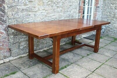 Lovely Vintage John Lewis Bergerac Solid Oak French Farmhouse RefectoryTable