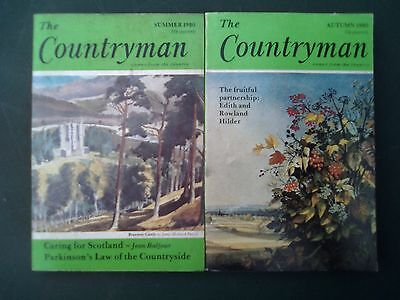 The Countryman Magazine x2 -Summer and Autumn 1980
