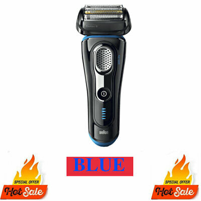 Braun Shaver 9290CC Series 9 Men's Rechargeable Electric Shaver Wet dry Silver