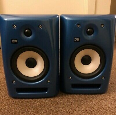 KRK Rokit 6 G2 Powered Studio Monitors (2 Pre-owned) - Blue (Limited Edition)